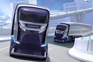 Isuzu presentó su revolucionario camión autónomo